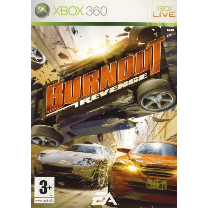 Игра Burnout: Revenge (Xbox 360) б/у (eng)