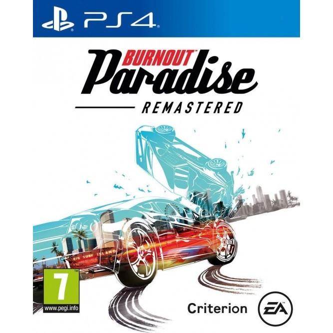 Игра Burnout Paradise Remastered (PS4) (rus) б/у
