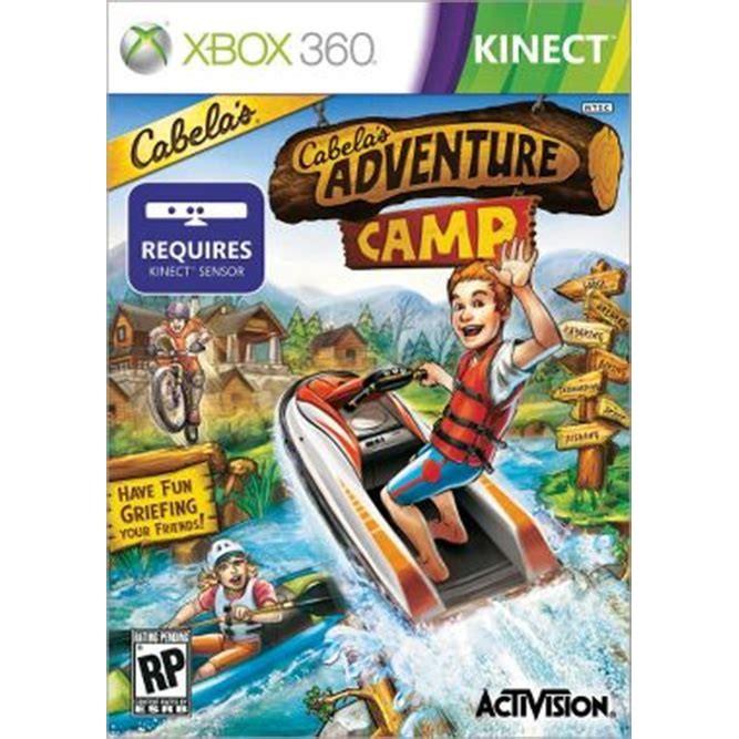 Игра Cabela's Adventure Camp (Только для Kinect) (Xbox 360) б/у