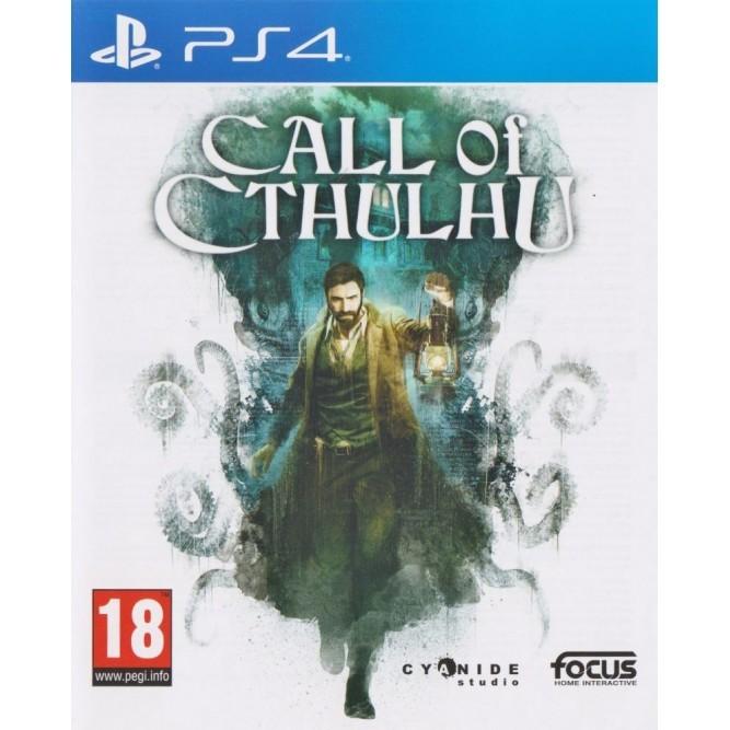 Игра Call of Cthulhu (PS4) б/у (rus sub)