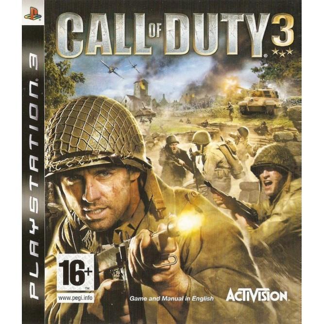 Игра Call of Duty 3 (PS3) б/у