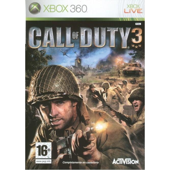 Игра Call of Duty 3 (Xbox 360) б/у
