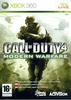 Игра Call of Duty 4: Modern Warfare (Xbox 360)