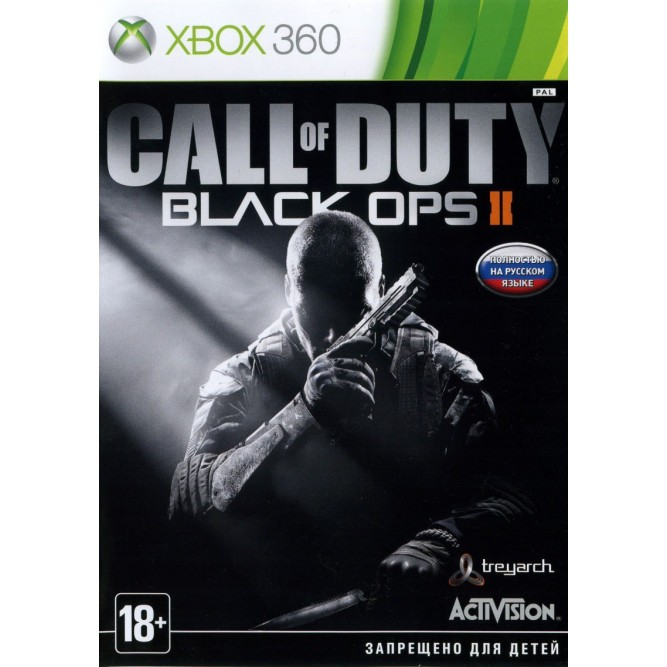 Игра Call of Duty: Black Ops II (Xbox 360) (б/у)