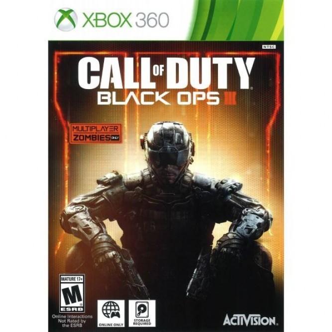 Игра Call of Duty: Black Ops III (Xbox 360) (б/у, rus)