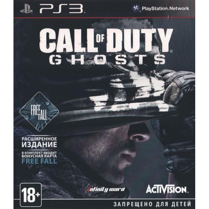 Игра Call of Duty: Ghosts (PS3) б/у