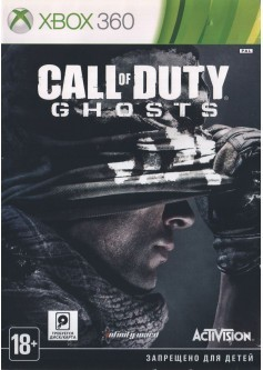 Игра Call of Duty: Ghosts (Xbox 360) б/у (rus)