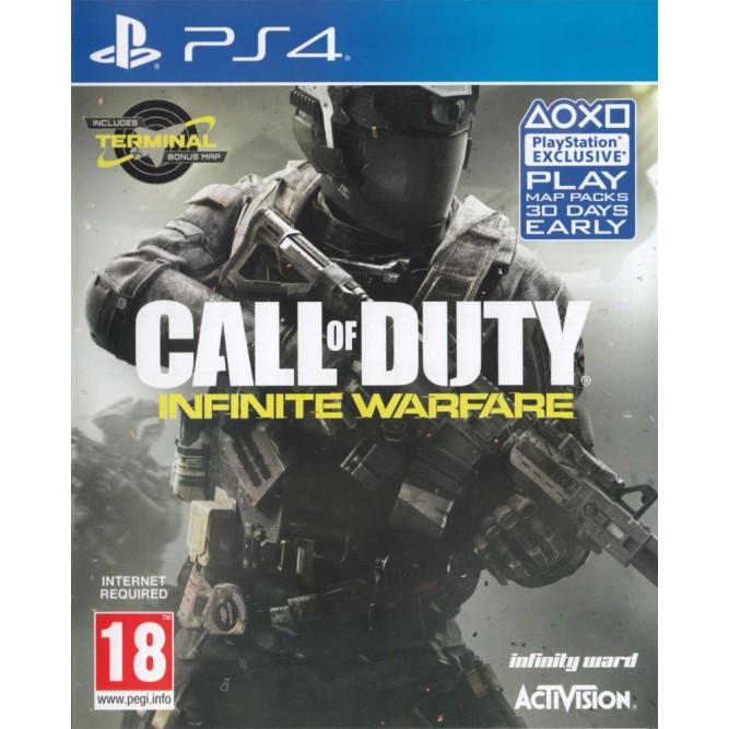 Игра Call of Duty: Infinite Warfare (PS4) б/у (rus)