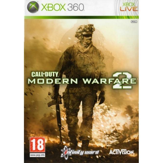 Игра Call of Duty: Modern Warfare 2 (Xbox 360) б/у