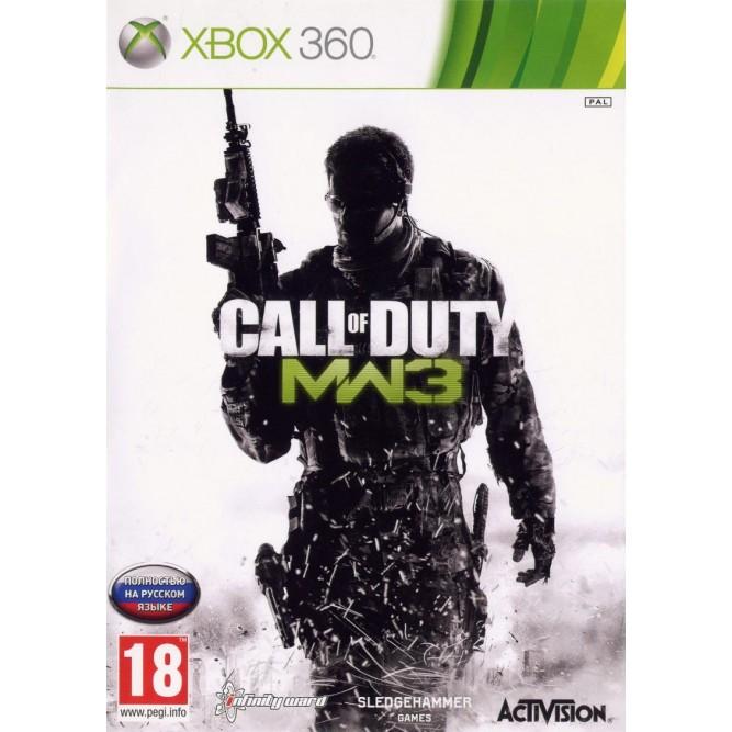Игра Call of Duty: Modern Warfare 3 (Xbox 360) б/у