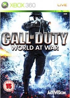 Игра Call of Duty: World at war (Xbox 360) б/у (rus)