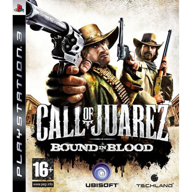 Игра Call of Juarez: Bound in Blood (PS3) б/у