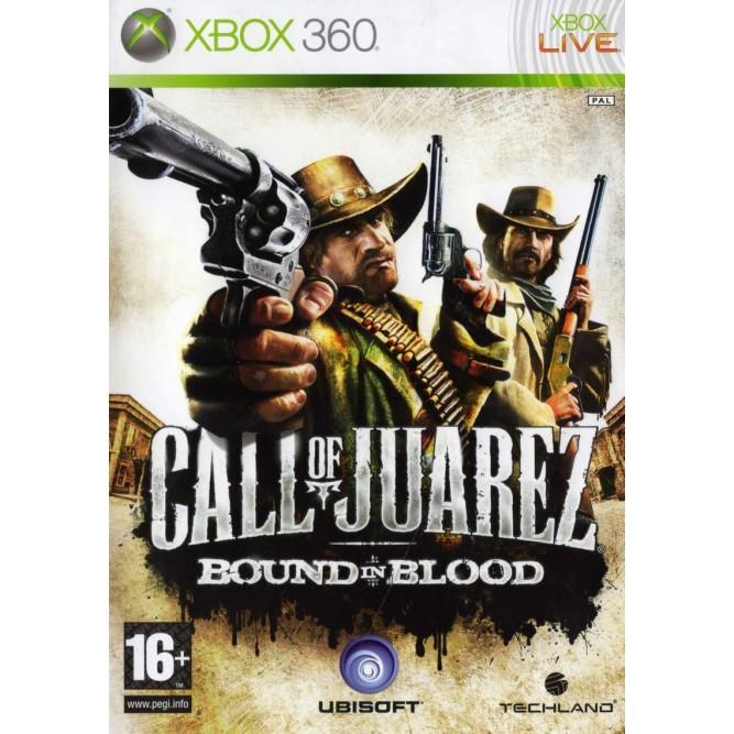 Игра Call of Juarez: Bound in Blood (Xbox 360) б/у