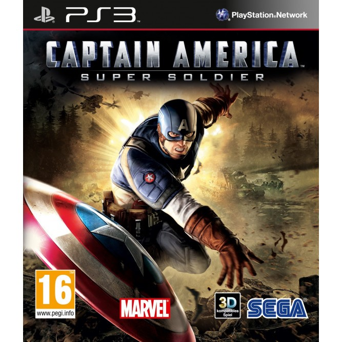 Игра Captain America: Super Soldier (PS3) б/у (eng)