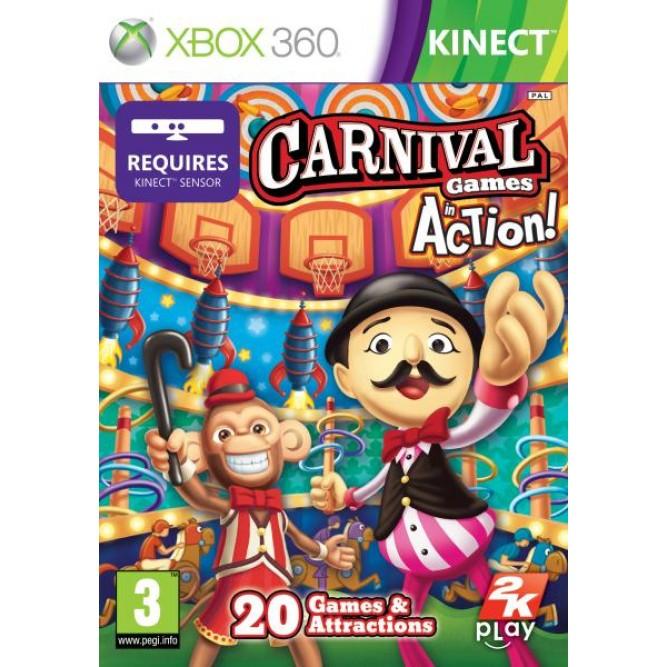Игра Carnival Games: In Action! (Только для Kinect) (Код на загрузку) (Xbox 360)