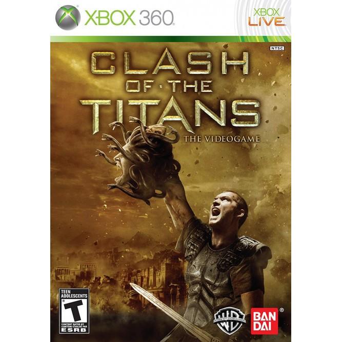 Игра Clash of the Titans: The Videogame (Xbox 360) б/у