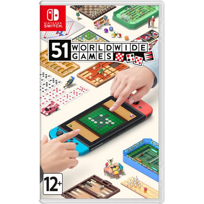 Игра 51 Worldwide Games (Nintendo Switch)