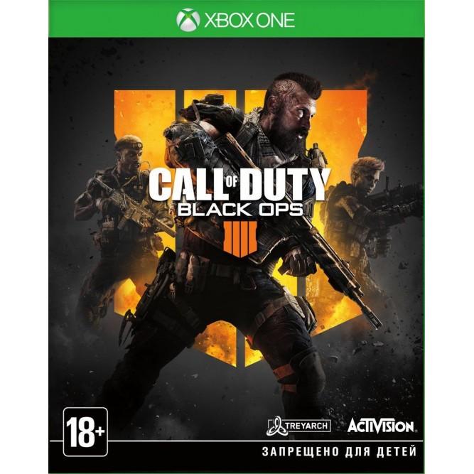 Игра Call of Duty: Black Ops 4 (Xbox One) (б/у)