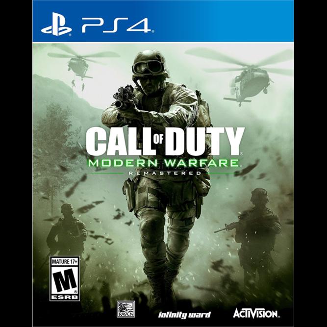 Игра Call of Duty: Modern Warfare Remastered (PS4) б/у (rus)