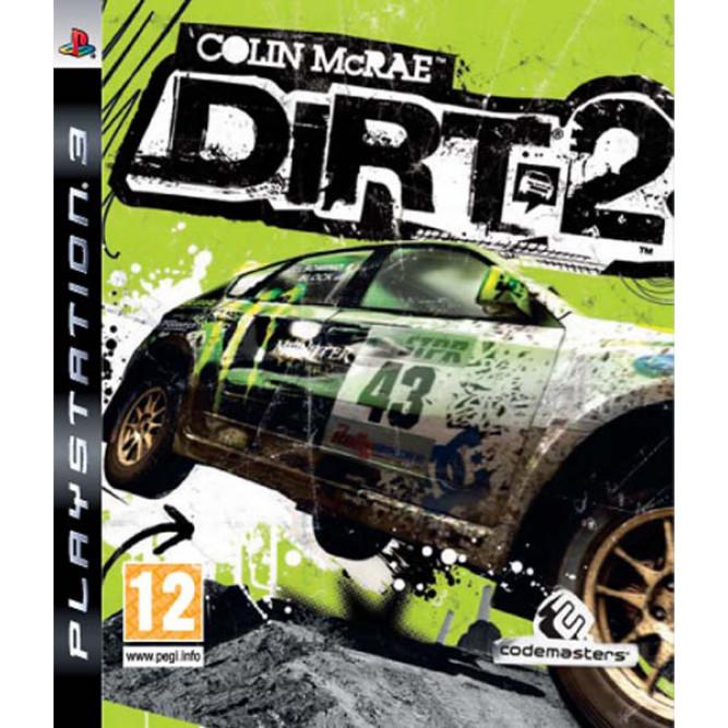 Игра Colin McRae Dirt 2 (PS3) б/у