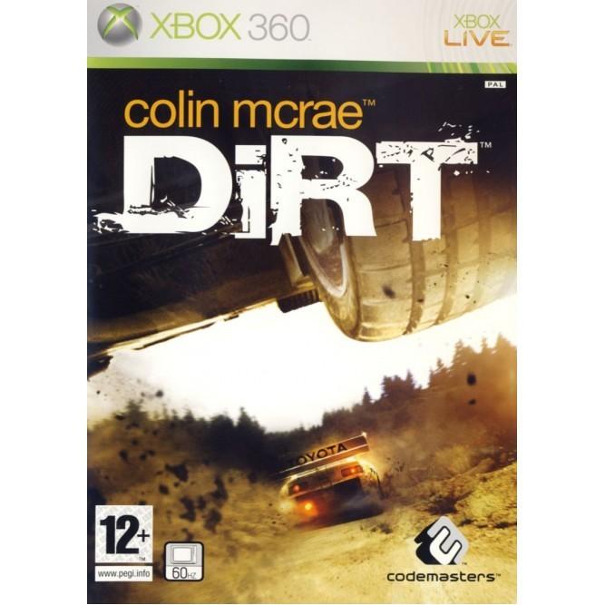 Игра Colin McRae Dirt (Xbox 360) б/у
