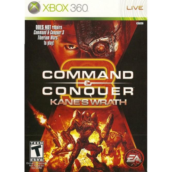 Игра Command and Conquer 3: Kane's Wrath (Xbox 360) б/у (rus)