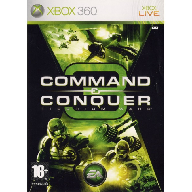 Игра Command & Conquer 3: Tiberium Wars (Xbox 360) б/у