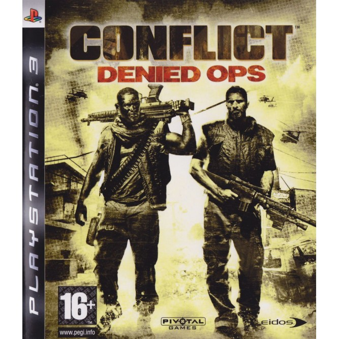 Игра Conflict: Denied Ops (PS3) б/у