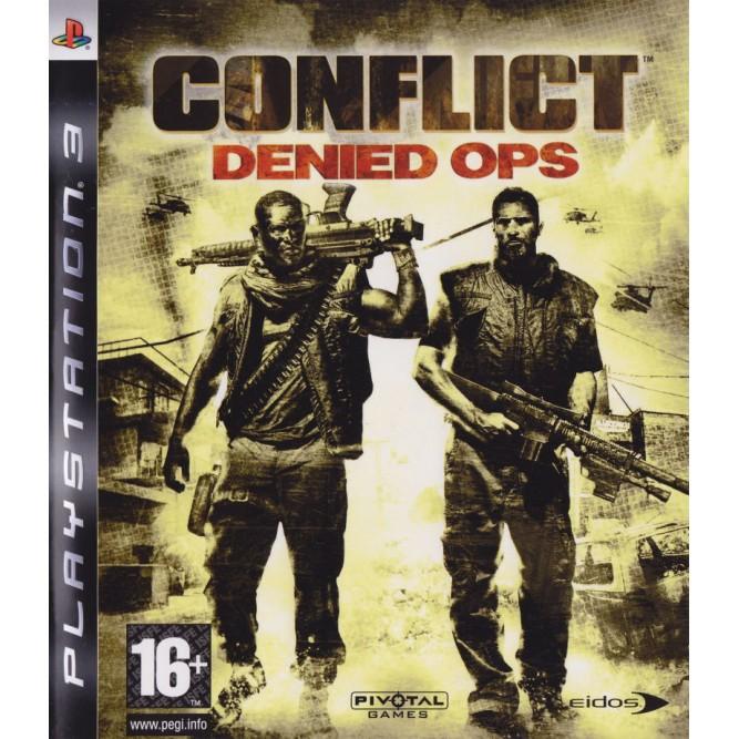 Игра Conflict: Denied Ops (PS3) б/у