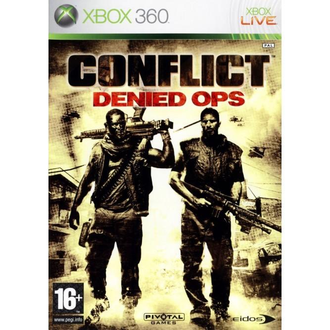 Игра Conflict: Denied Ops (Xbox 360) б/у