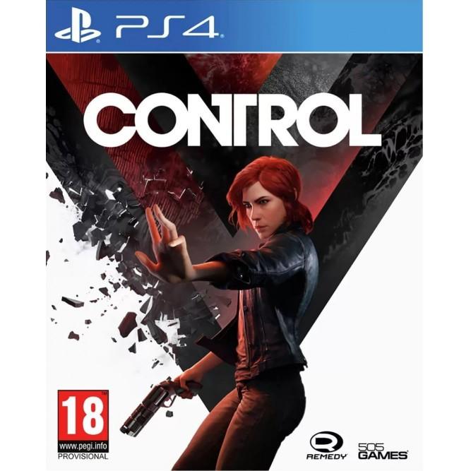 Игра Control (PS4) (rus)