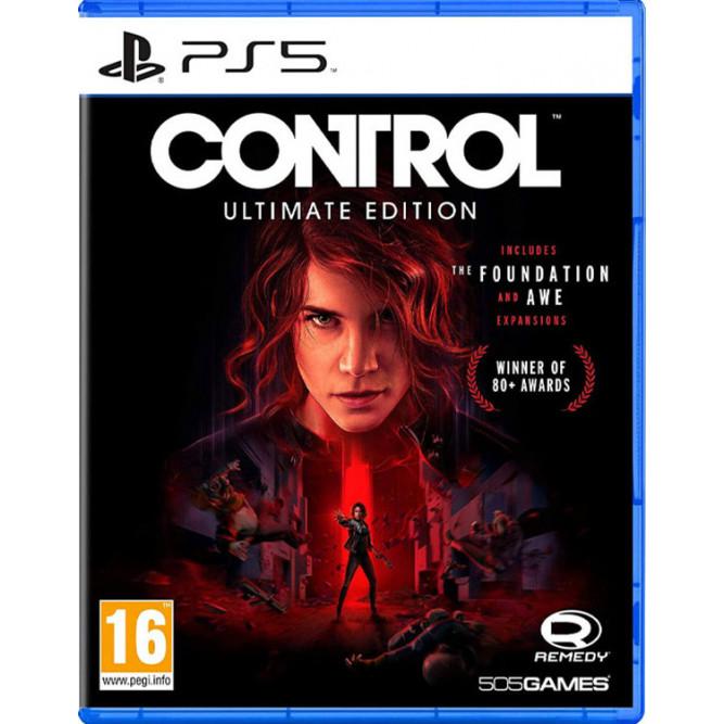 Игра Control: Ultimate Edition (PS5) (rus sub)