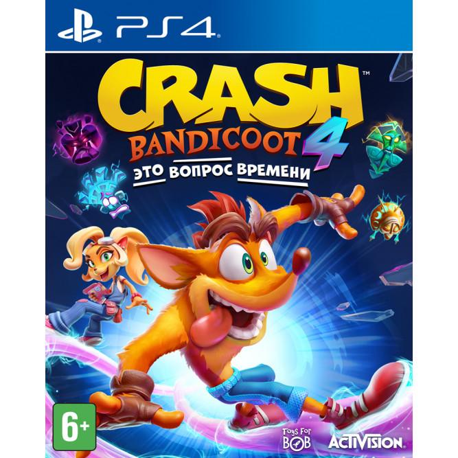 Игра Crash Bandicoot 4: Это вопрос времени (PS4) (rus sub)