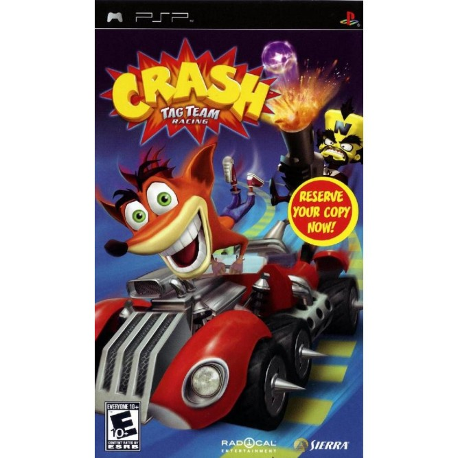 Игра Crash Tag Team Racing (PSP) (б/у)