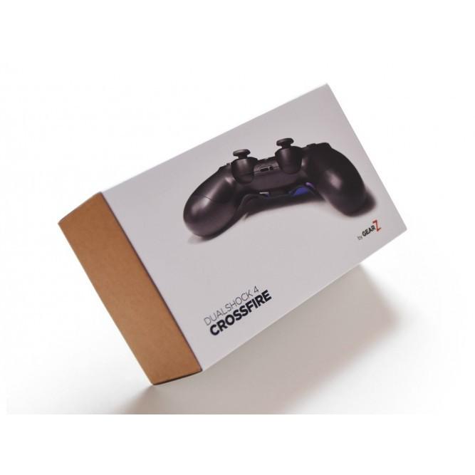 Геймпад Sony DualShock 4 Crossfire Pro by GearZ (С противоскользящим покрытием) (PS4)