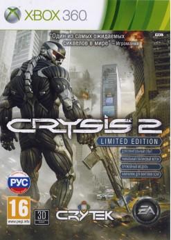 Игра Crysis 2. Limited Edition (Xbox 360) б/у