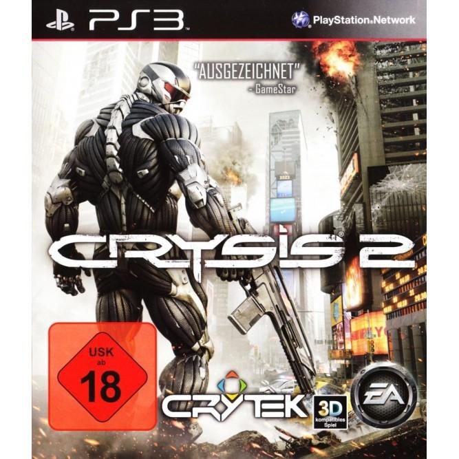 Игра Crysis 2 (PS3) б/у