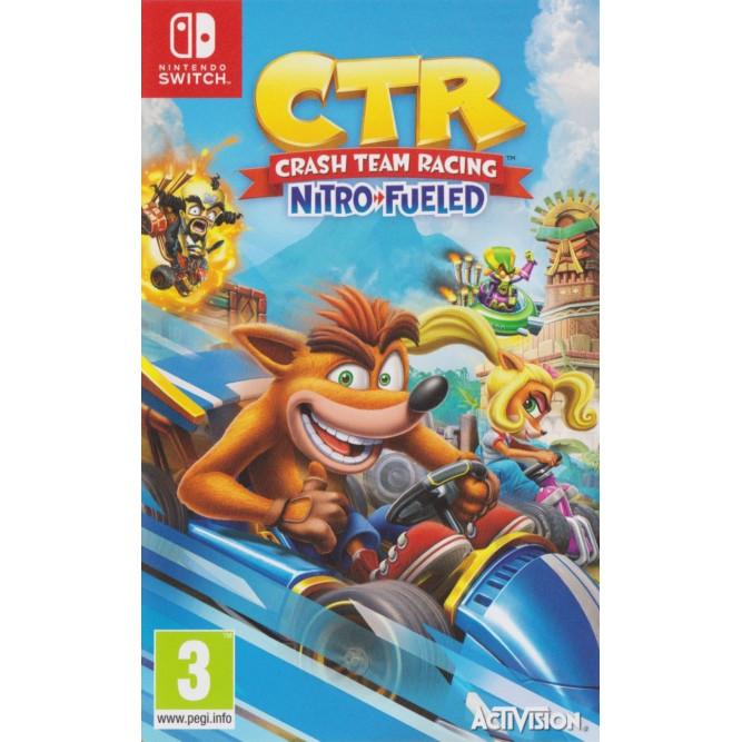 Игра CTR: Crash Team Racing - Nitro-Fueled (Nintendo Switch) (eng) б/у