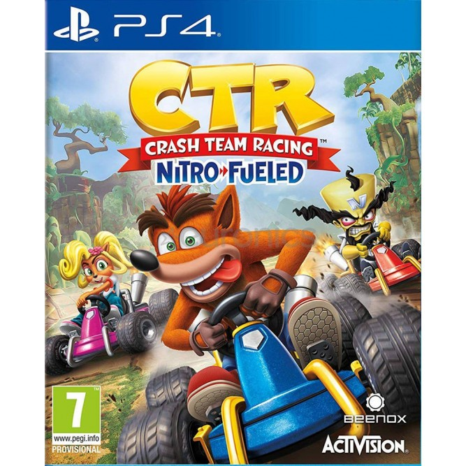 Игра CTR: Crash Team Racing - Nitro-Fueled (PS4) (eng) б/у
