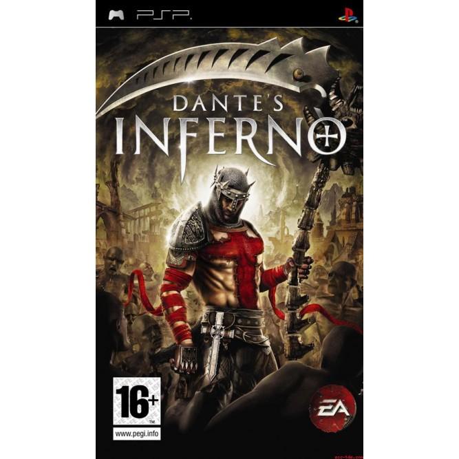 Игра Dante's inferno (PSP) б/у