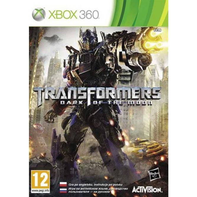 Игра Transformers: Dark of the Moon (Xbox 360) б/у