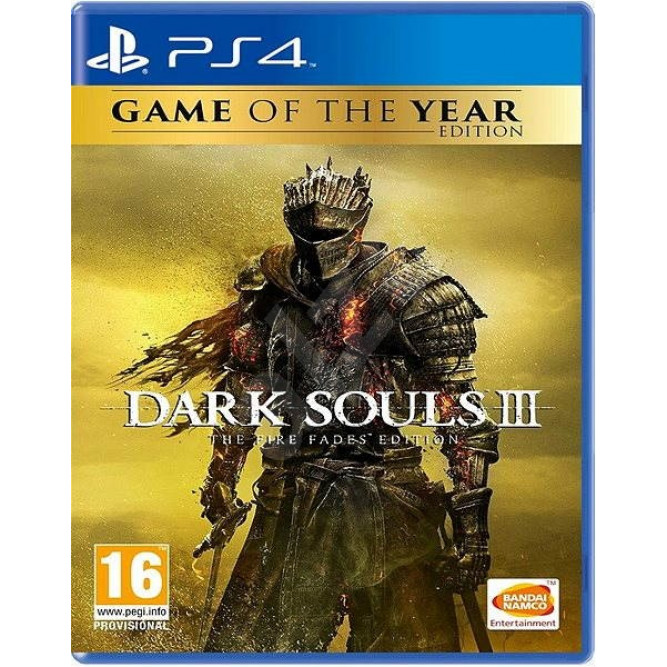Игра Dark Souls III. The Fire Fades Edition (PS4) (eng)