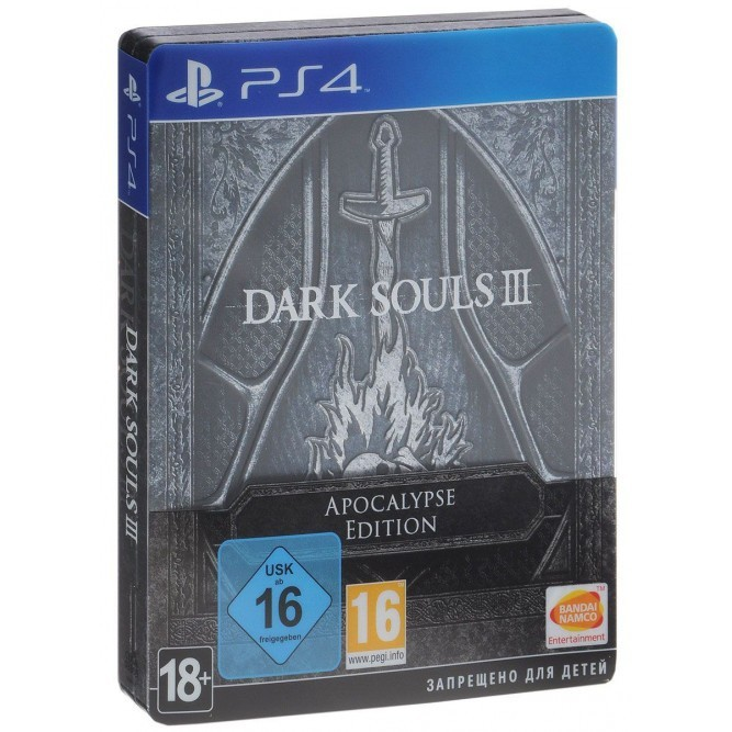 Игра Dark Souls III. Apocalypse Edition (PS4) б/у (rus)