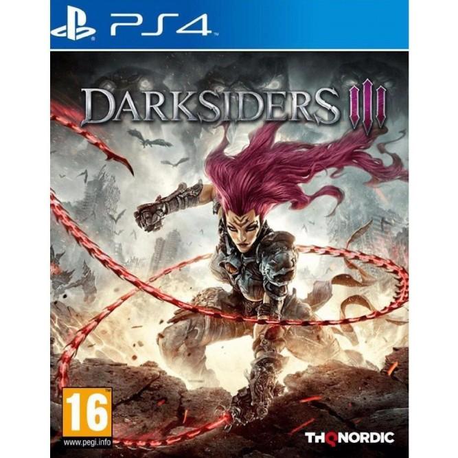 Игра Darksiders III (PS4) (rus) б/у