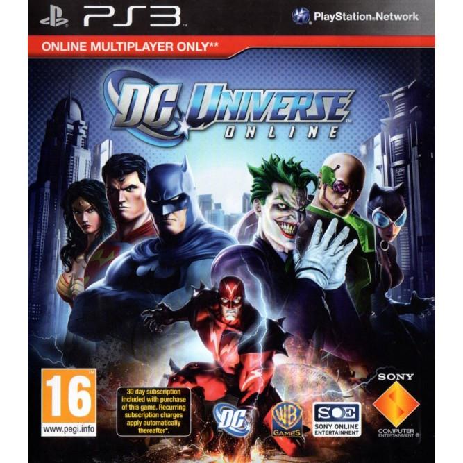 Игра DC Universe Online (PS3) б/у