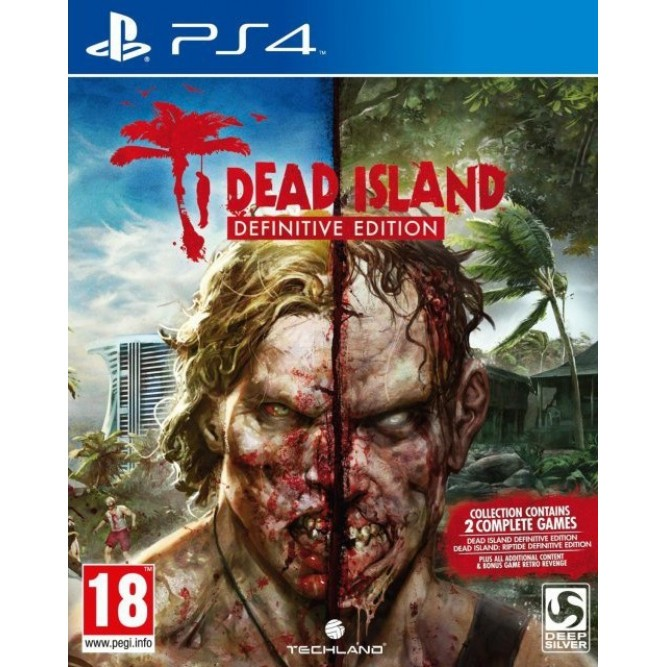 Игра Dead Island: Definitive Edition (PS4) б/у (rus sub)