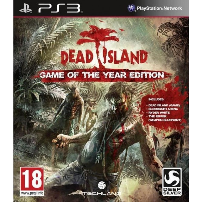 Игра Dead Island: Game of the Year Edition (PS3) б/у