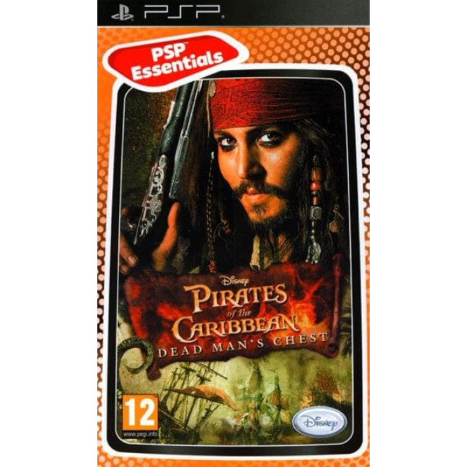 Игра Пираты Карибского моря: Сундук Мертвеца (PSP) б/у