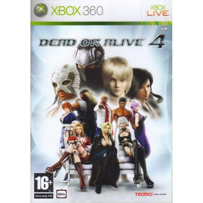 Игра Dead or Alive 4 (Xbox 360) б/у (eng)