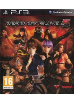 Игра Dead or Alive 5 (PS3) б/у